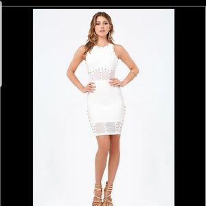 Bebe stud dress NWOT